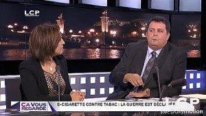 Cyrille Geiger sur LCP La Chaine Parlementaire